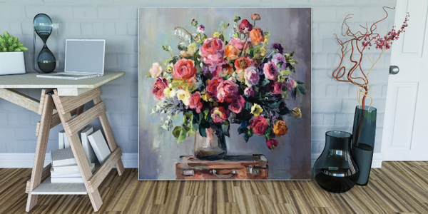 How to Clean a Canvas Print Picture