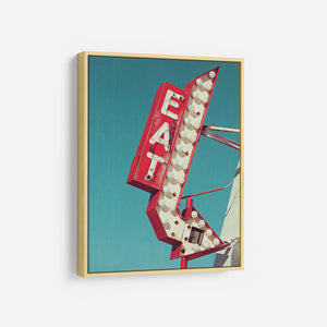 Retro Eat Sign - DANITA DELIMONT