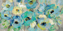Load image into Gallery viewer, Fresh Teal Flowers - SILVIA VASSILEVA