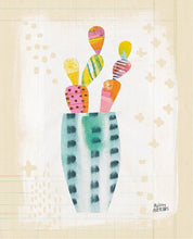 Load image into Gallery viewer, Collage Cactus I on Graph Paper - MELISSA AVERINOS