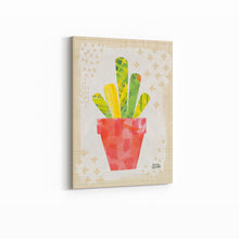 Load image into Gallery viewer, Collage Cactus VI on Graph Paper - MELISSA AVERINOS