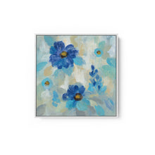 Load image into Gallery viewer, Blue Flowers Whisper II - SILVIA VASSILEVA