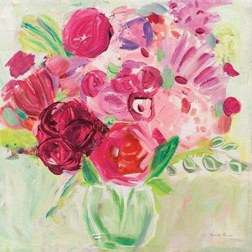 Pink and Red Florals - FARIDA ZAMAN