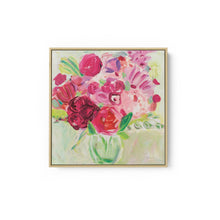 Load image into Gallery viewer, Pink and Red Florals - FARIDA ZAMAN