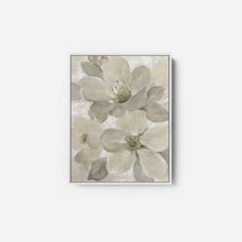 Load image into Gallery viewer, White on White Floral I Neutral - SILVIA VASSILEVA