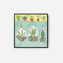 Load image into Gallery viewer, Cacti Garden I - FARIDA ZAMAN