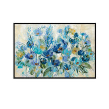 Load image into Gallery viewer, Scattered Blue Flowers - SILVIA VASSILEVA