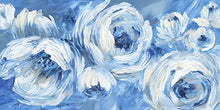 Load image into Gallery viewer, Contemporary Blue and White - NAN
