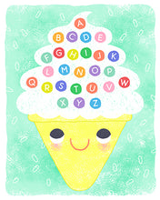 Load image into Gallery viewer, Ice Cream Alphabet - LIZZY DOYLE