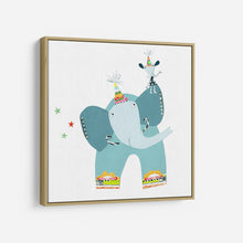 Load image into Gallery viewer, Circus Elephant - KATHERINE AND ELIZABETH POPE