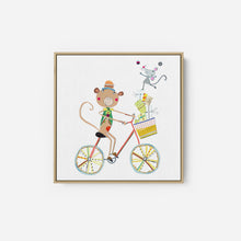 Load image into Gallery viewer, Circus Monkey - KATHERINE AND ELIZABETH POPE