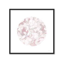 Load image into Gallery viewer, Leafy Abstract Circle I Blush Gray - DANHUI NAI