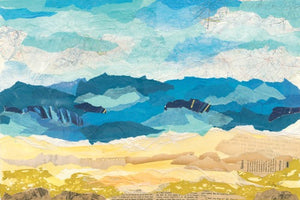 Abstract Coastal I - COURTNEY PRAHL