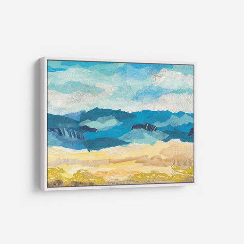 Canvas Wall Arts Prints- Abstract Coastal I - COURTNEY PRAHL
