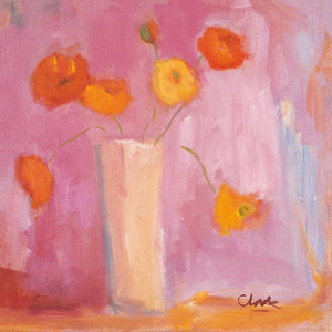 Mandarin Poppies - MICHAEL CLARK