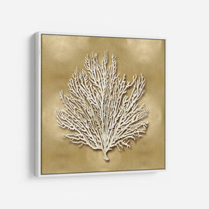 Sea Fan on Gold I - Caroline Kelly