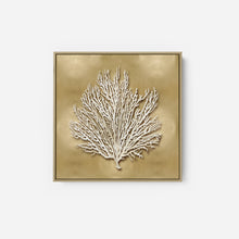 Load image into Gallery viewer, Sea Fan on Gold I - Caroline Kelly