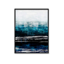 Load image into Gallery viewer, Aqua Reflections with Silver - ALLIE CORBIN