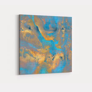Stone with Turquoise and Gold - DANIELLE CARSON