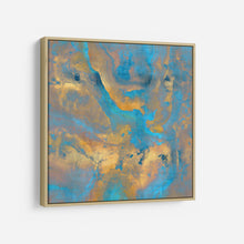 Load image into Gallery viewer, Stone with Turquoise and Gold - DANIELLE CARSON