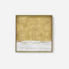 Load image into Gallery viewer, White on Gold I - SOFIA GORDON