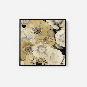 Floral Abundance in Gold II - KATE BENNETT