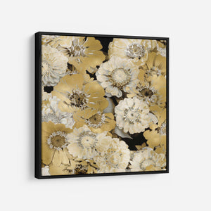 Floral Abundance in Gold IV - KATE BENNETT
