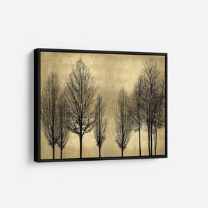 Trees on Gold - KATE BENNETT