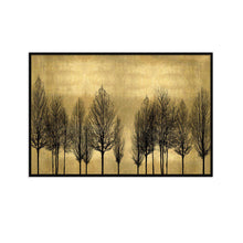 Load image into Gallery viewer, Tree Line on Gold - KATE BENNETT