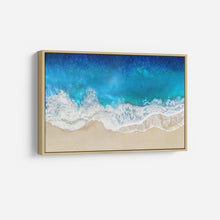 Load image into Gallery viewer, Aqua Ocean Waves From Above - MAGGIE OLSEN