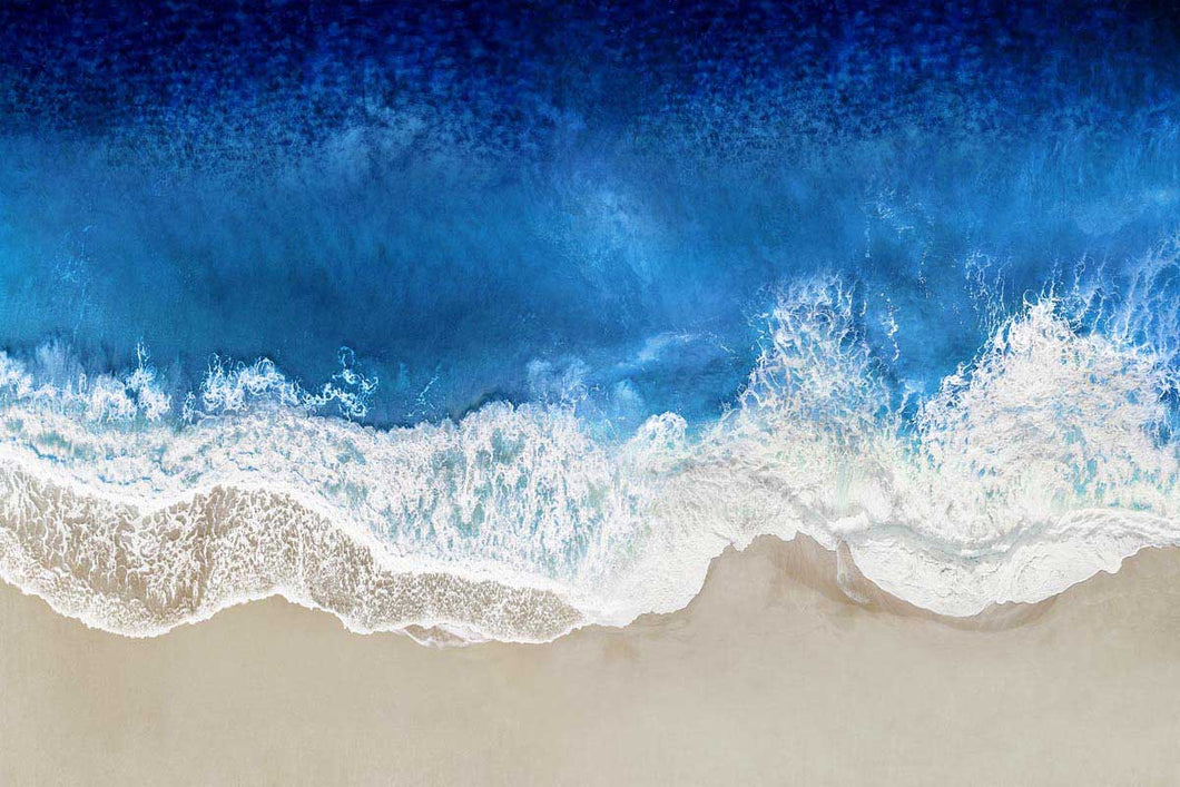 Indigo Waves From Above I - MAGGIE OLSEN