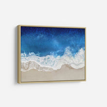 Load image into Gallery viewer, Indigo Waves From Above I - MAGGIE OLSEN