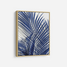 Load image into Gallery viewer, Palm Shadows Blue I - MELONIE MILLER
