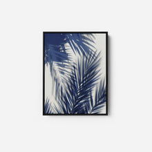 Load image into Gallery viewer, Palm Shadows Blue II - MELONIE MILLER