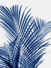 Load image into Gallery viewer, Palm Shadows Indigo I - MELONIE MILLER