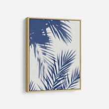 Load image into Gallery viewer, Palm Shadows Indigo II - MELONIE MILLER