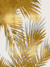 Load image into Gallery viewer, Palm Shadows Gold II - MELONIE MILLER
