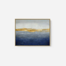 Load image into Gallery viewer, Linear Gold on Indigo - JAKE MESSINA