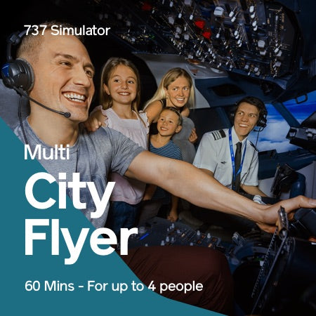 Multi City Flyer – 60 Mins