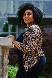 Girl Gone Wild Leopard Blazer