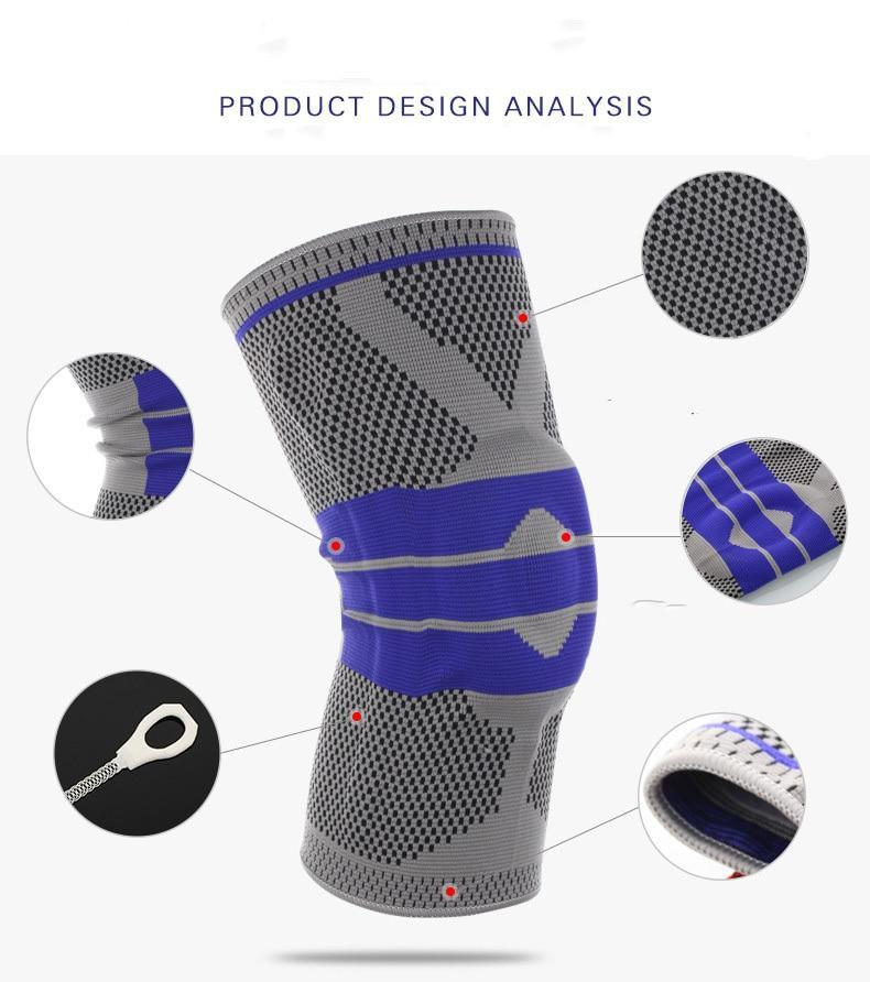 a125d548f2 ... Load image into Gallery viewer, Nylon Silicon Knee Pad™ ...
