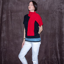 Load image into Gallery viewer, Eros cotton scarf handmade - telchines-fashion-ltd