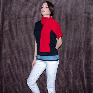 Eros cotton scarf handmade - telchines-fashion-ltd