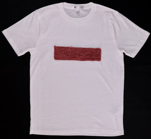 Aphrodite T-Shirt with knitting detail (second hand T-shirt) - telchines-fashion-ltd