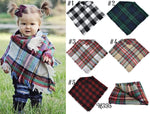 Plaid Shawl (Kids)