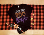 I Put The Boo In Boujie Tee