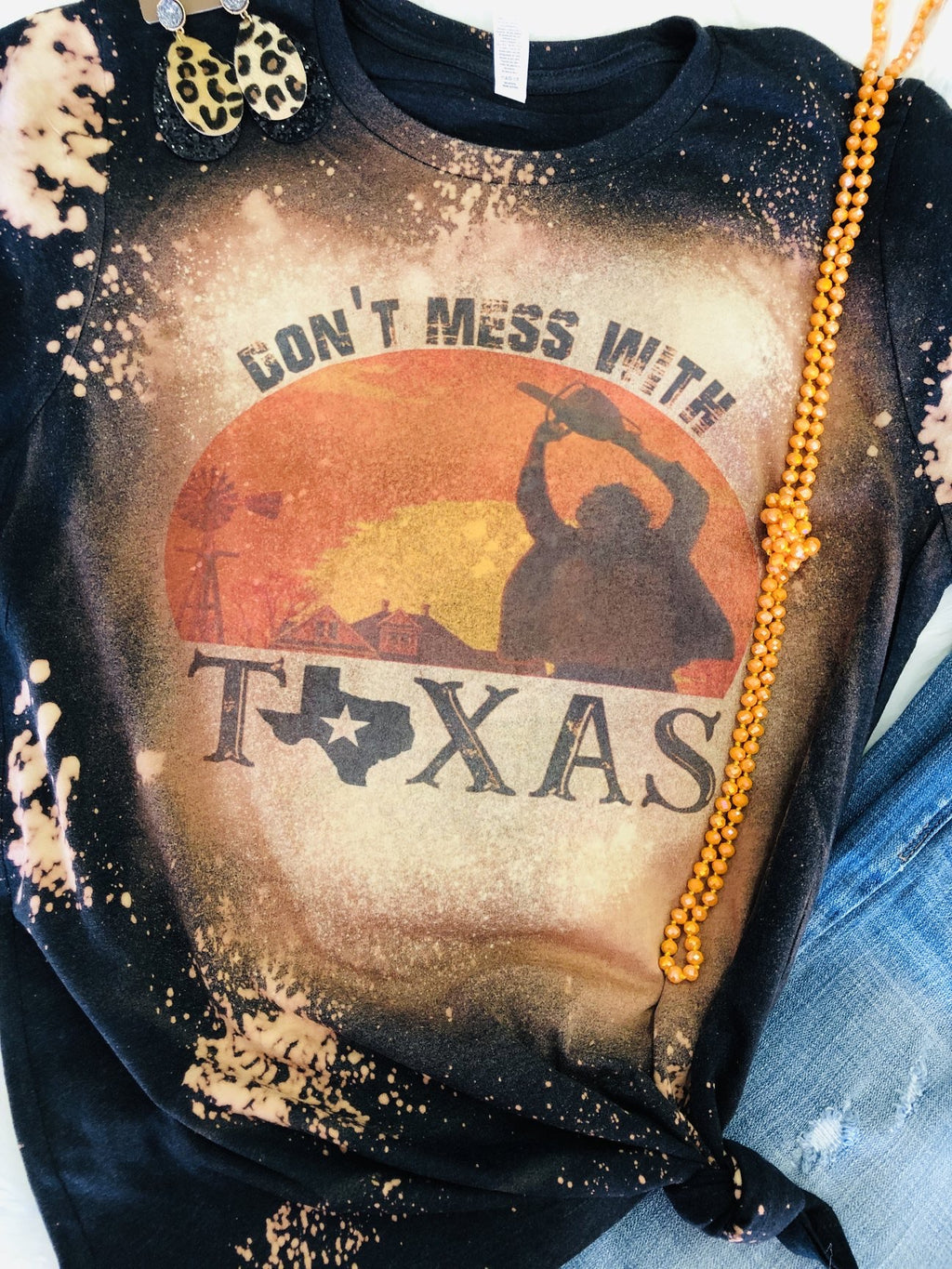 Don't Mess With Texas Tee (Bleached)