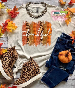 Thankful Brushstrokes Tee