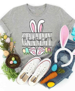 Personalized Bunny Tee