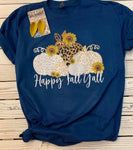 Happy Fall Yall Tee (Blue)